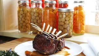 Rack of Lamb with Quince Glaze