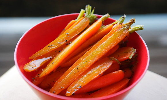 Carrots in Verjuice